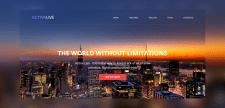 Сайт-визитка для компании ACTIVELIVE