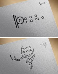 Два варианта логотипа для ресторана