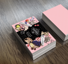 "Дизайн визитки для арт-клуба ""Квартира 36"""