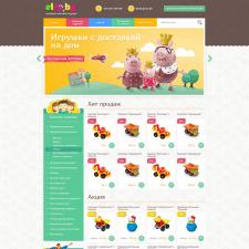 Разработка сайта для магазина игрушек «Elro.by»