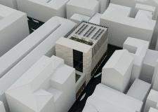 Конкурсный проект школы ремесел в г. Венеции