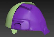 3д моделирование каски