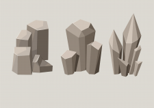 Illustration. Stone.