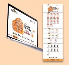 Дизайн сайта для пиццерии