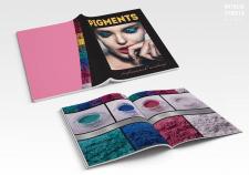 Дизайн каталога косметических пигментов