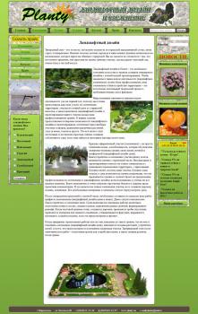 Дизайн и вёрстка сайт визитка