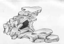 Морской набор. Пещера.