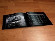 Буклет о машинах марки Audi