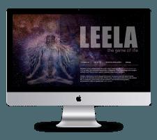 Адаптивный сайт LeelaGame