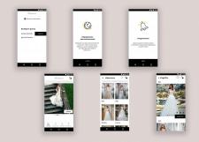 Приложение для интернет магазина свадебных и вечер