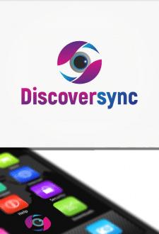 Логотип для приложения безопасности Discoversync