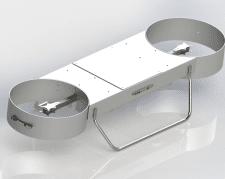 Корпус дрона из листового метала
