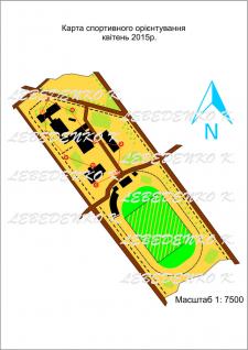 Карта ориентирования вектор
