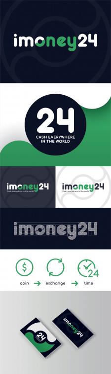 Лого imoney24 криптовалютный обмен