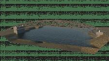 Модель пешеходного моста