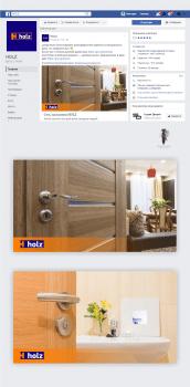 #Дизайн шаблона для постов  в facebook#Holz#
