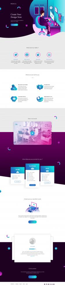 Инновационный сайт продажи
