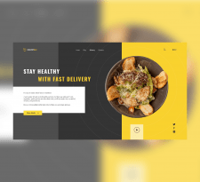Сайт доставки еды