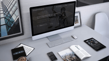 Law firm's site made on Tilda