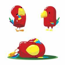 parrot character