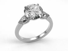 Кольцо с камнем3