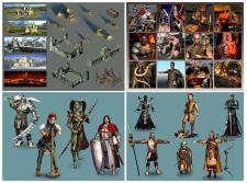 персонажи для браузерной игры +  строения