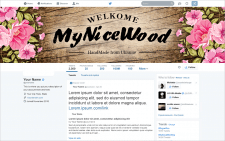 Banner for My Nice Wood Facebook
