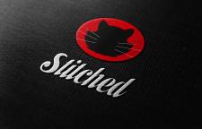 Черный кот для текстиля