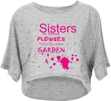 Принт для парной футболки для девочек
