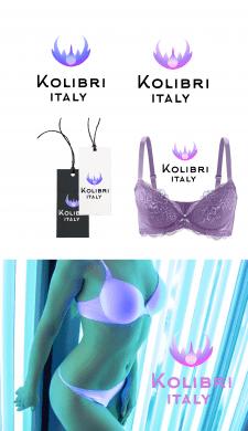 "Логотип для магазина жеyского белья""kolibri"""