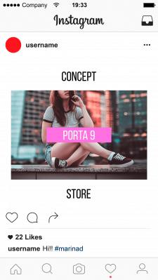 Баннер для Instagram