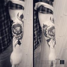 #цветок #тату