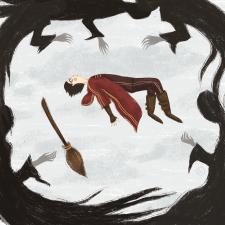 Illustration for PotterWeekPrompts