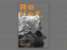 Relief. — Poster Concept