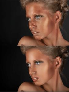Beauty ретушь (журнальная обработка)