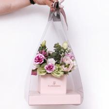 Дизайн упаковки для студии флористики