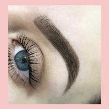 Обработка фото работы перманентного макияжа