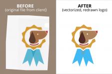 Векторизация логотипа (Convert logo to vector)