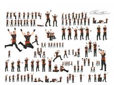Разработка персонажа под анимацию