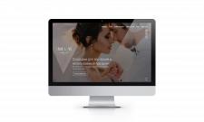 Адаптивний дизайн сайту весільних послуг