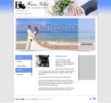 Сайт визитка Видеомонтаж свадьб