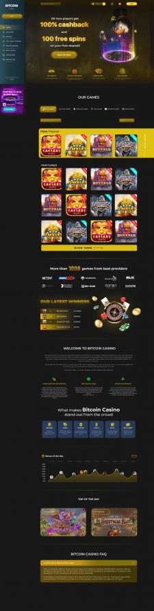 Casino bitcoin design