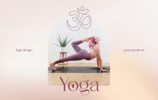 Yoga teacher   Logo & identity