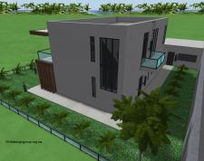 Современный дом с видом на Море и Вершины