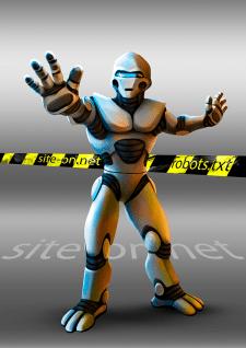 Робот. Иллюстрация для сайта.