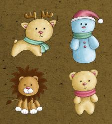 новорічні персонажі