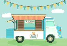 Pancekary грузовик с едой