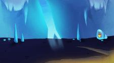 """Локация для мобильной игры """"Ледяная пещера"""""""