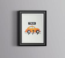 вариант логотипа такси 979