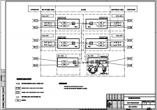 Схема видеонаблюдения комплекса